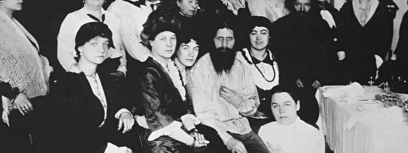 Rasputin mit Anhngerinnen / Foto