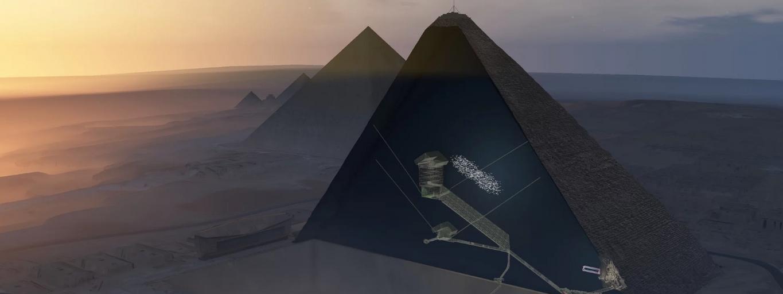 Piramida Cheopsa - skan
