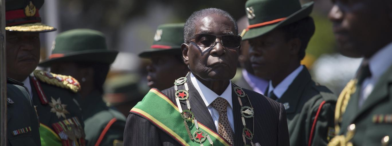 President Mugabe opens the Fifth Session of the Eighth Parliament of Zimbabwe