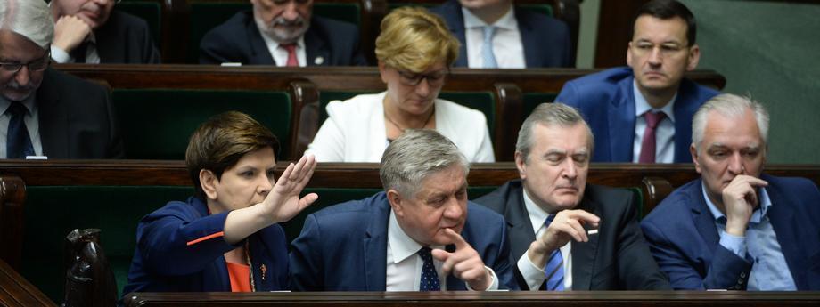 Sejm rząd Prawo i Sprawiedliwość PiS polityka