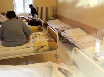 szpital psychiatryczny sala pacjenci