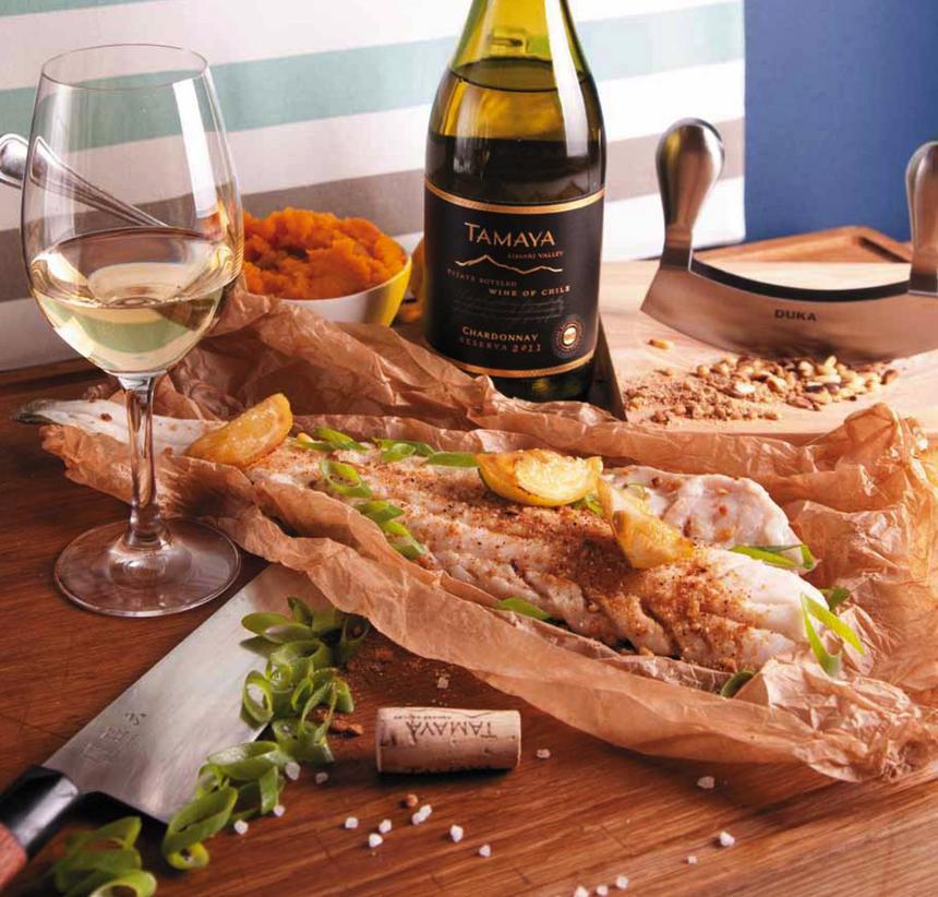Do dorsza lub halibuta fermentowane w beczkach wino z popularnej na całym świecie odmiany chardonnay