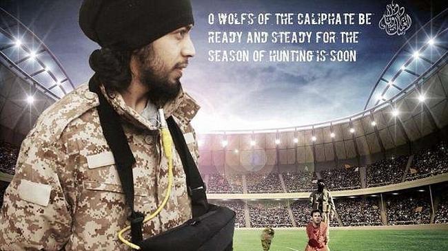 Materiał propagandowy ISIS na Mistrzostwa Świata w Rosji.
