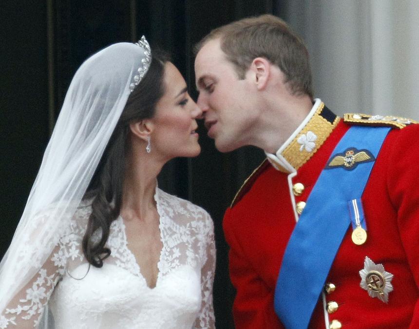 2011 rok. Ślub księcia Williama i Kate Middleton był najważniejszym wydarzeniem towarzyskim roku