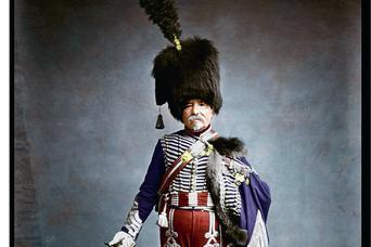 Żołnierze Napoleona w kolorze