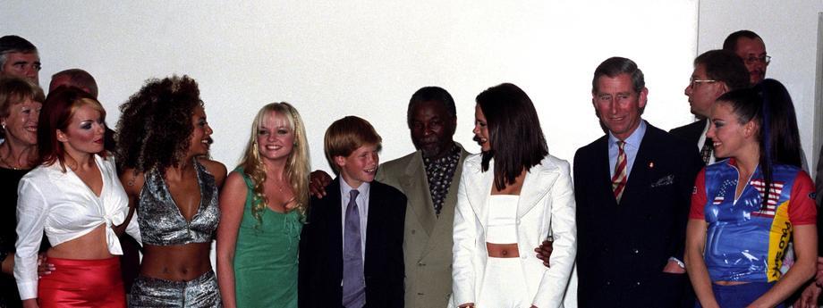 Photocall - Royals Meet Spice Girls - Johannesburg