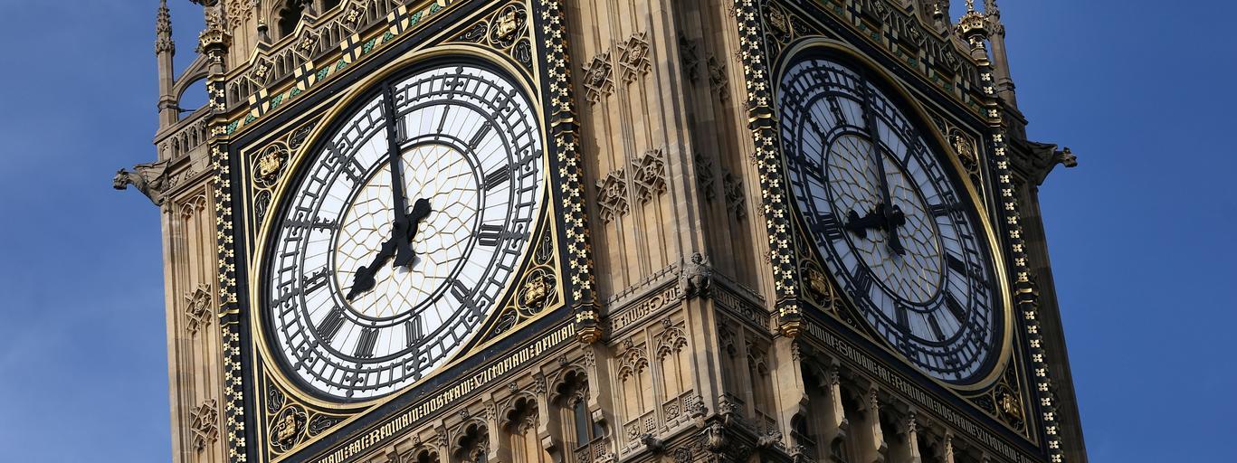 Big Ben Londyn Wielka Brytania zegar czas