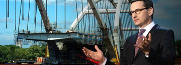 Mateusz Morawiecki buduje mosty