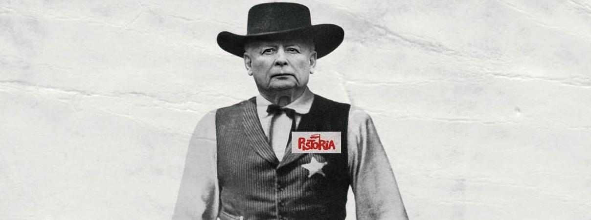 Kaczyński pisze historię.