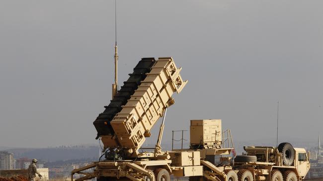 Patriot bateria rakiet