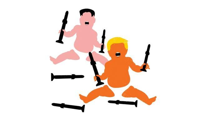 Kim i Trump