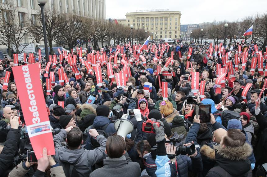 Kreml obawia się, że Aleksiej Nawalny zmobilizuje zbyt dużą liczbę zwolenników opozycji