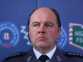 Szef NSZZ Policjantów: Ostatnio jest nas zbyt wielu na protestach