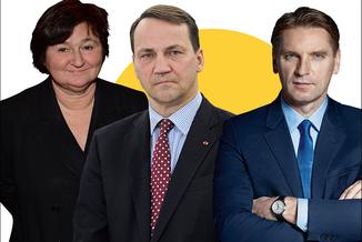 """Sikorski ostro w """"Tomasz Lis."""": Kaczyński jest tchórzem"""