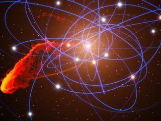 Czarna dziura, która rozerwała gwiazdę