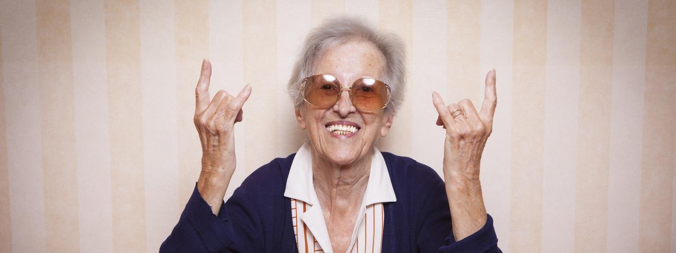 starość kobieta wiek babcia staruszka