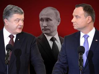 Dyplomatyczna wojna Polski z Ukrainą? Putin zaciera ręce