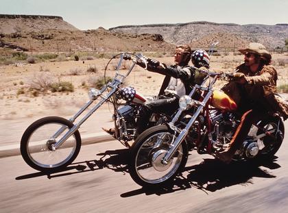 Kadr z filmu Easy Rider