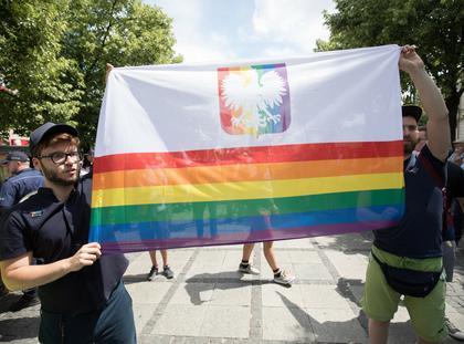 Marsz rownosci w Czestochowie