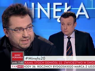 Węglarczyk rozprawia się z tezami prawicowych mediów. W TVP Info
