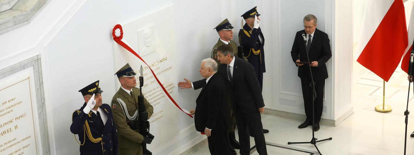 Marek Kuchciński, Jarosław Kaczyński