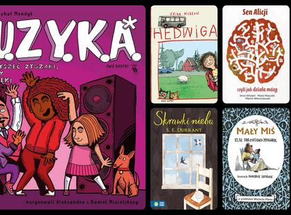 książki dla dzieci na prezent