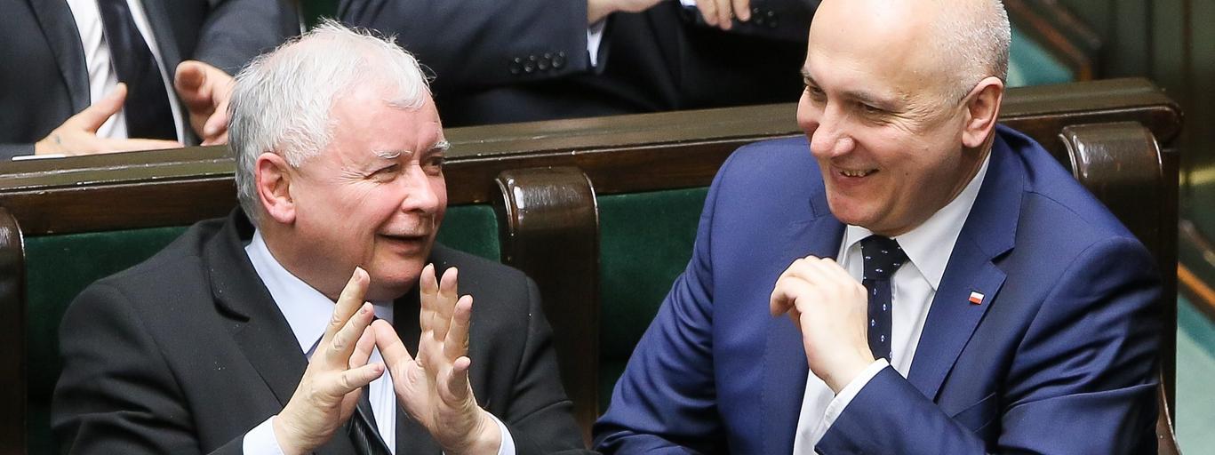Jarosław Kaczyński, Joachim Brudziński