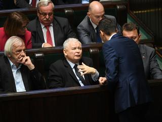 Beata Mazurek, Ryszard Terlecki, Jarosław Kaczyński, Mariusz Błaszczak, Mateusz Morawiecki, Waldemar