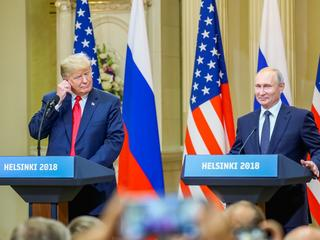 Donald Trump Władimir Putin