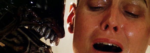 """Kadr z filmu """"Obcy"""" w reżyserii Ridleya Scotta"""