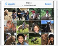 Zdjęcia Kiedy przeszukujesz swoją kolekcję fotografii, aplikacja Zdjęcia wykonuje miliardy obliczeń, szukając osób, miejsc i obiektów, które chcesz zobaczyć. A dzięki selekcji zdjęć i jeszcze precyzyjniej działającej technologii rozpoznawania twarzy ukochane wspomnienia odnajdziesz dużo szybciej.