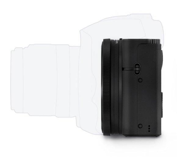 Sony DSC-RX100 bok