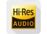 Hi-res audio playback