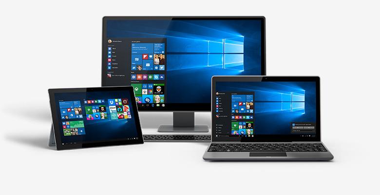 On po prostu działa System Windows 10 łączy w sobie te systemy Windows, które już znasz, dodając znakomite ulepszenia, które pokochasz. Technologie, takie jak InstantGo1 pozwalają szybko uruchamiać system i przywracać go. System Windows 10 ma także więcej niż kiedykolwiek wbudowanych funkcji zabezpieczeń, które pomagają chronić przed złośliwym oprogramowaniem.