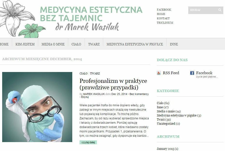 Medycyna Estetyczna bez Tajemnic