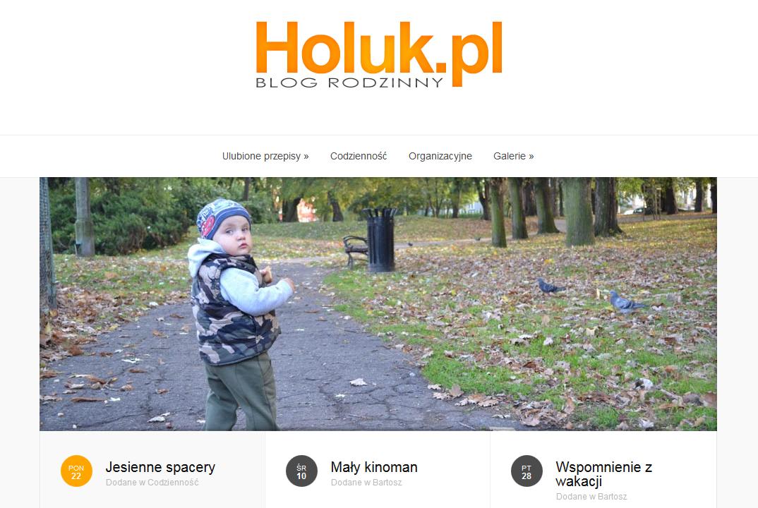 Blog rodziny Holuk.pl