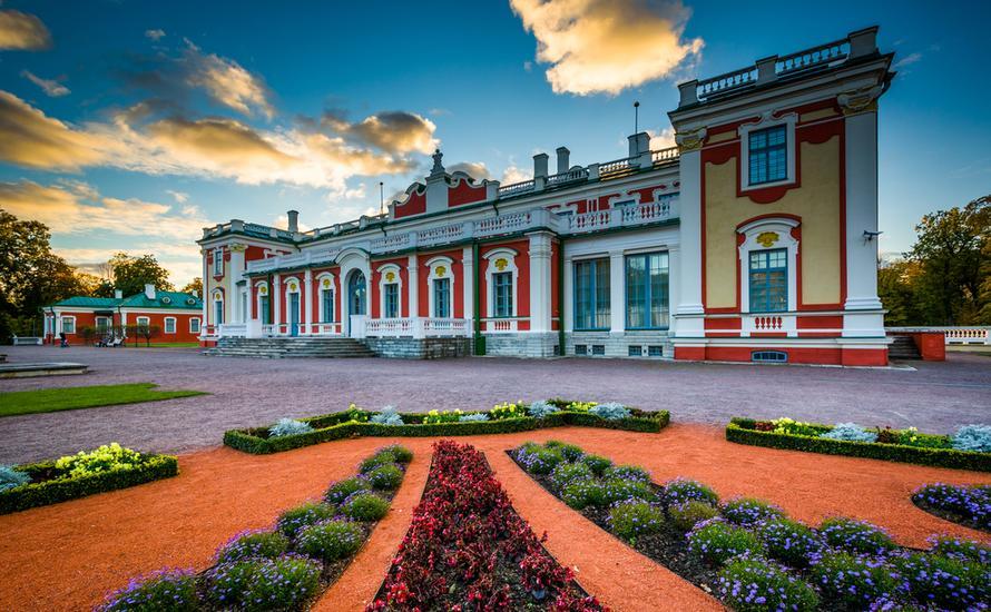 Tallin - pałac i park Kadriorg, czyli manifest miłości Piotra Wielkiego