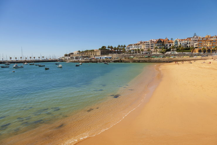 Costa da Caparica i plaże niedaleko Lizbony
