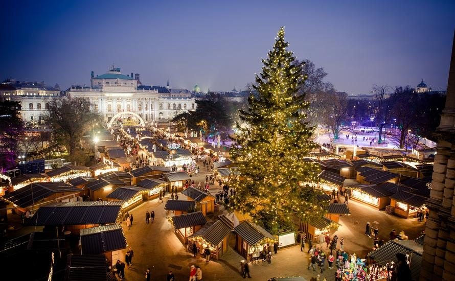 Najpiękniejsze jarmarki świąteczne, które warto odwiedzić - Wiedeń
