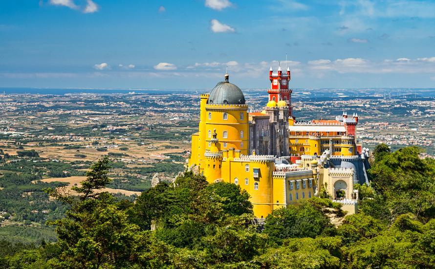Sintra: przybysz z innego świata