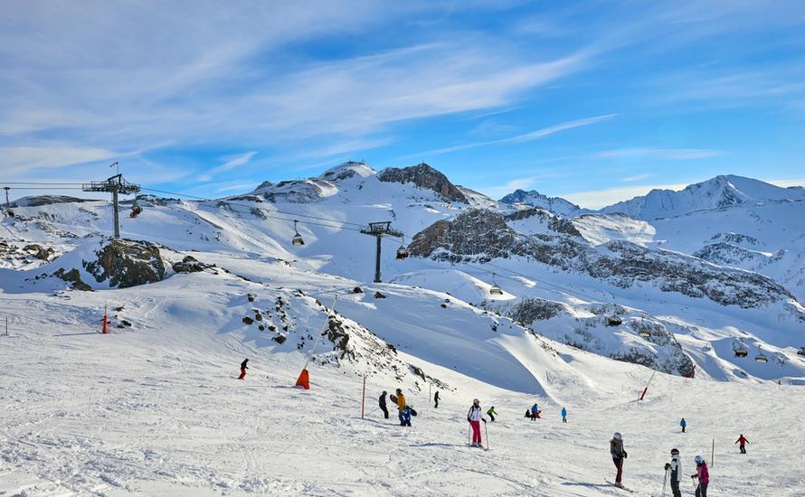 Najpiękniejsze trasy narciarskie w Austrii