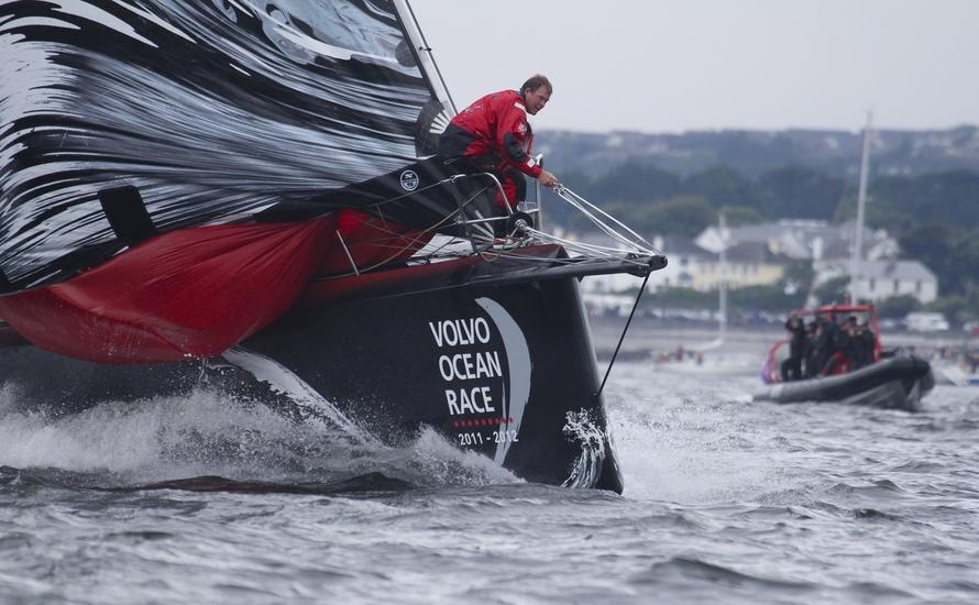 Volvo Ocean Race - załoga sopockiego klubu najszybsza na ostatnim etapie