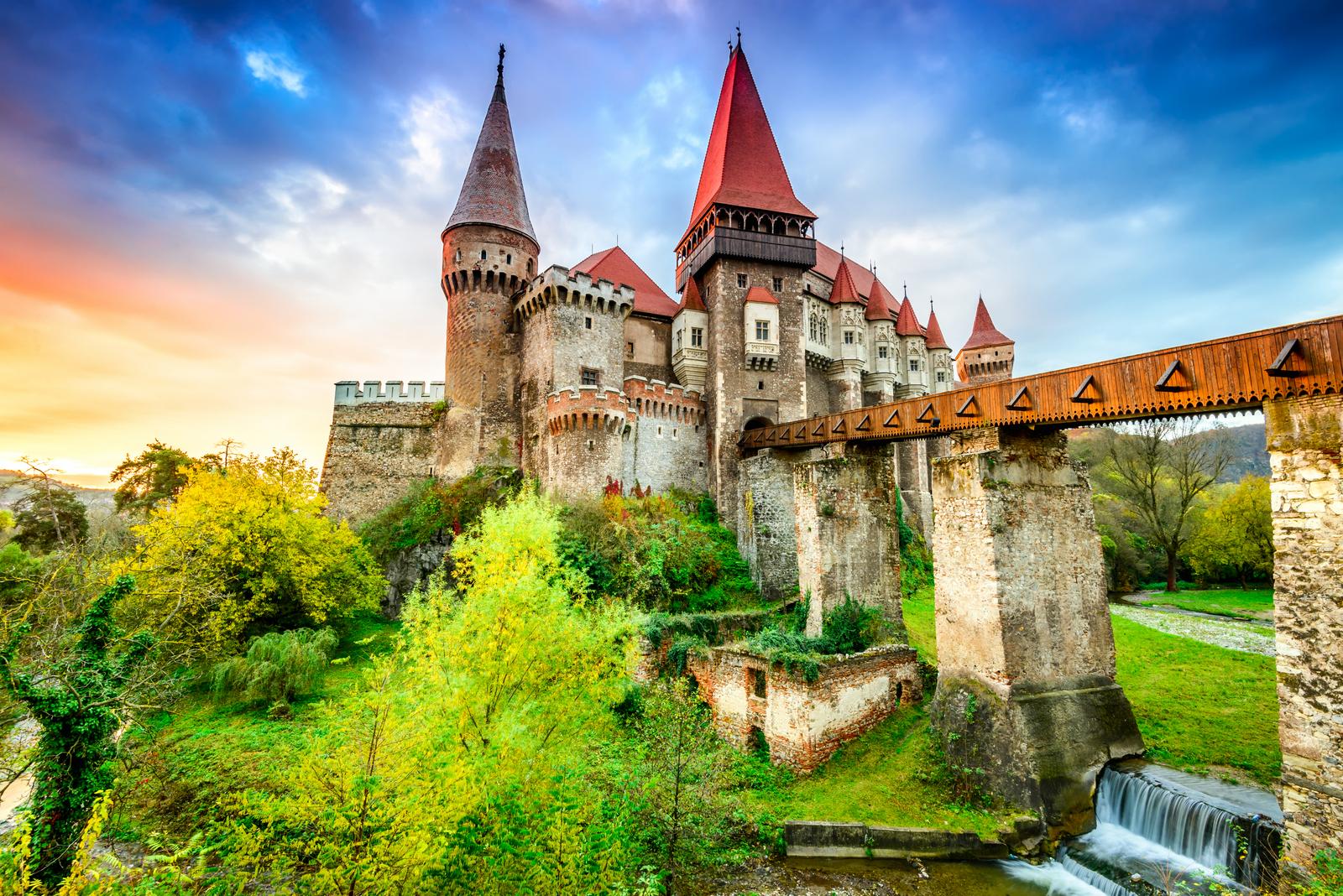 Zamek Hunyad, Transylwania