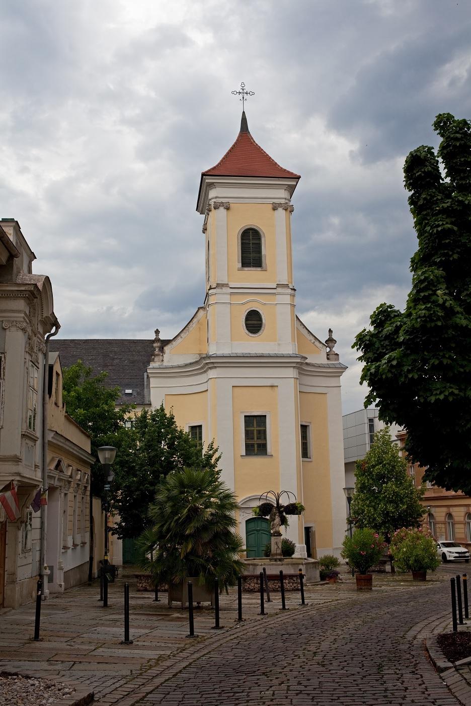Fototapeta: Klasztor franciszkanów w Eisenstadt