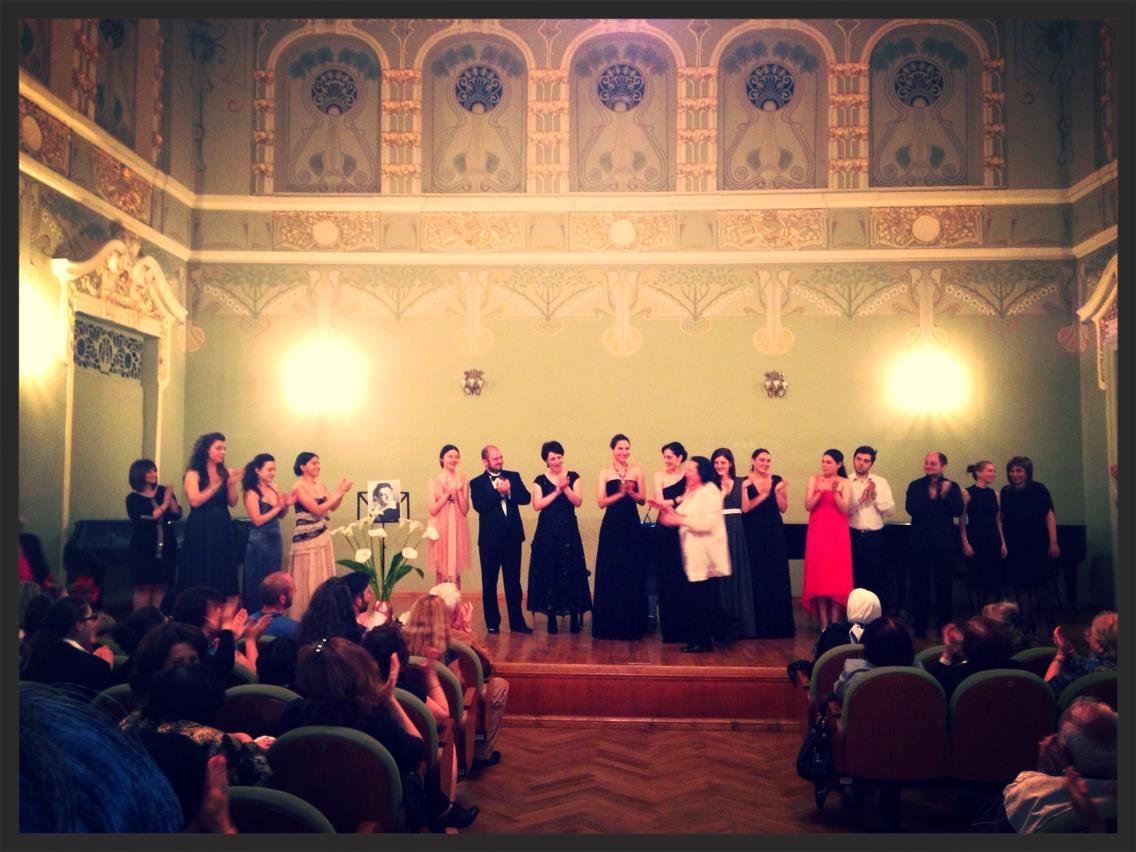 Koncert w tbiliskim konserwatorium muzycznym