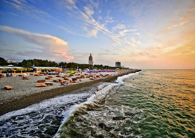 Plaża w Batumi / Foto: www.visitbatumi.travel