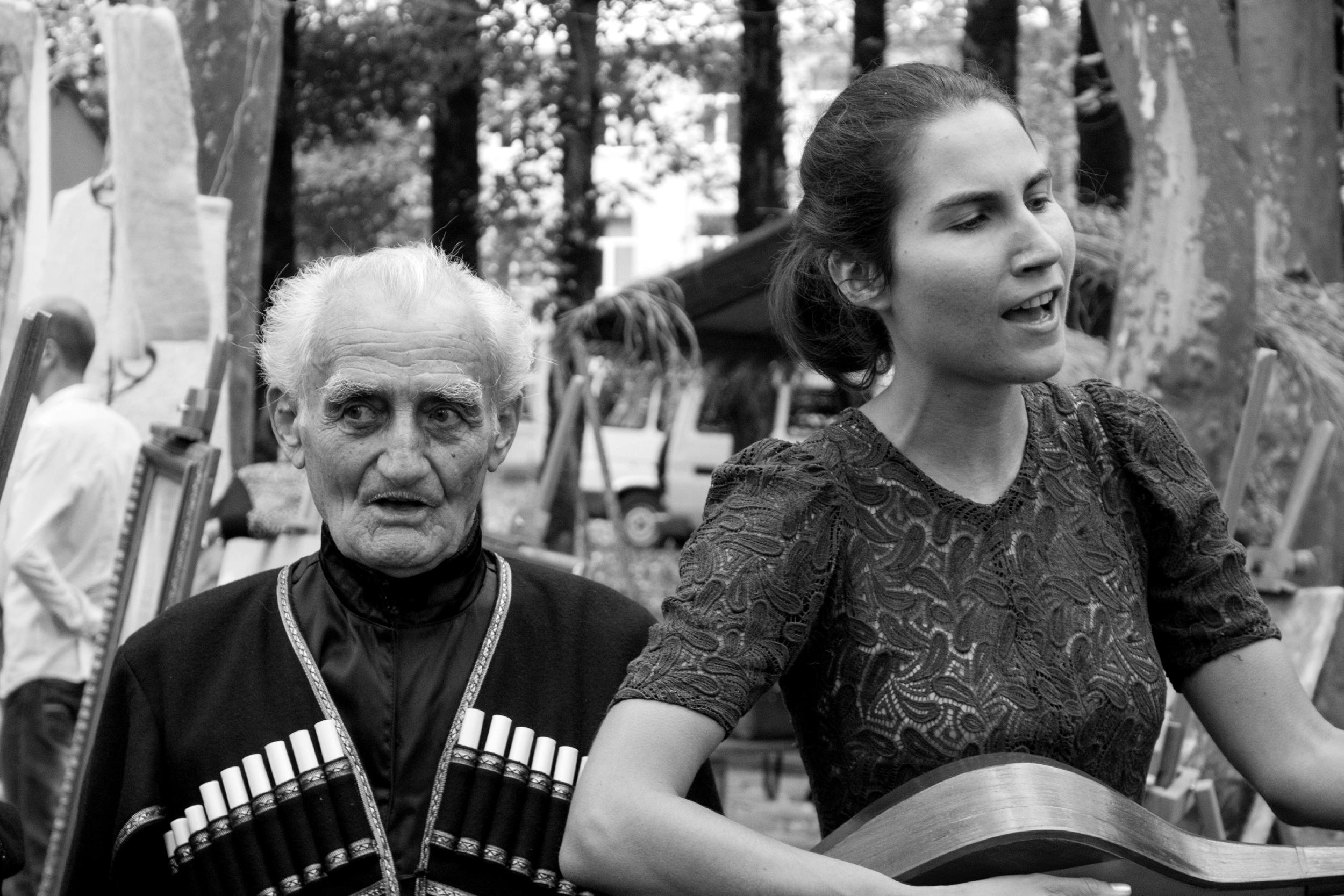Z megrelskim muzykiem