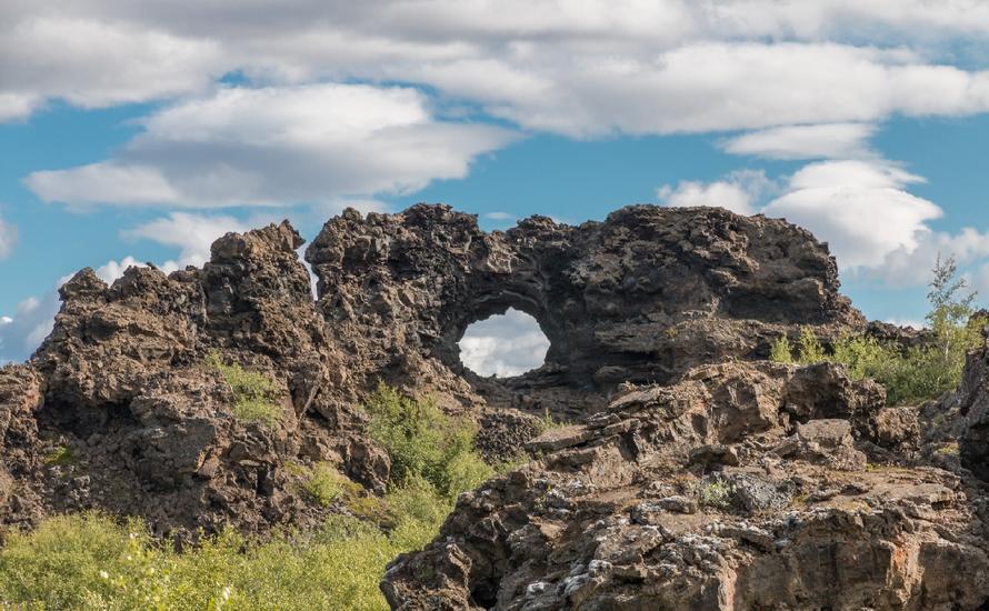 Dimmuborgir - mroczna część Islandii?