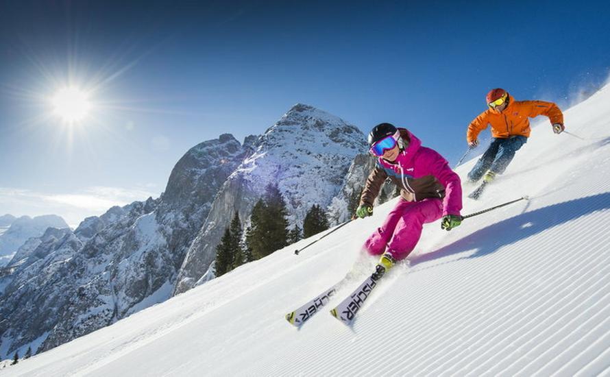Dzika Hilda kusi narciarzy, czyli narty w Górnej Austrii