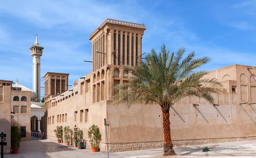 Ślady przeszłości w Dubaju